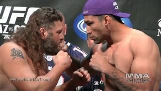 Download UFC 143: Fabricio Werdum + Roy Nelson Weigh-In + Staredown Video