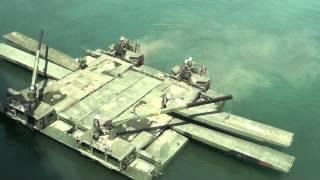 Download 陸軍變形金剛,車變船船變橋叫做M3 Amphibious Bridging car。新北市消防救災演習 Video