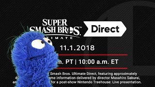 Download Smash Ultimate Direct 11/1/18 Live Reaction and Commentary Video