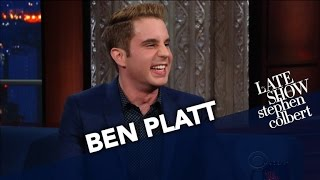 Download Ben Platt Made Stephen Cry For Two Hours Straight Video