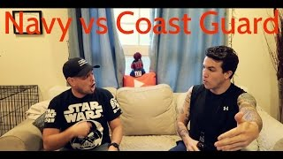 Download Navy vs Coast Guard Q&A | Small boat ops, daily life, best females, swim and fish calls Video