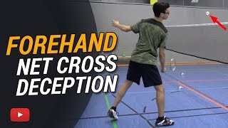Download Badminton Tips and Tricks - Forehand Net Cross Deception featuring Camilo Borst Video