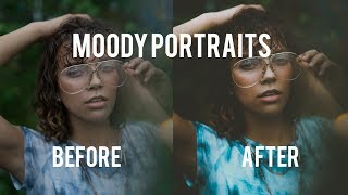Download HOW TO EDIT MOODY PORTRAITS IN LIGHTROOM (Edit from Start to Finish) Video