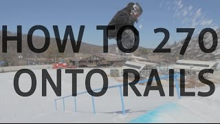 Download How to 270 on rails on skis Video