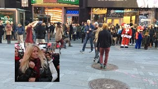 Download Sean Murdoch | NYC Flash Mob Proposal | Times Square Video
