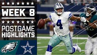 Download Eagles vs. Cowboys | NFL Week 8 Game Highlights Video