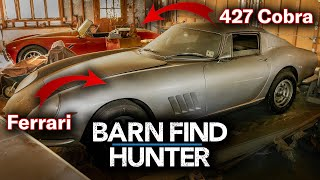 Download $4,000,000 Barn Find - Rare Ferrari AND 427 Cobra Hidden for Decades | Barn Find Hunter - Ep.24 Video