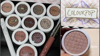 Download ColorPop eyeshadow swatches (Mile High & other) Video