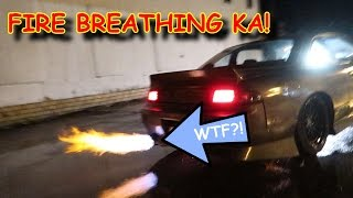 Download 240SX CATCHES ON FIRE!! Video