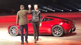 Download FIRST RIDE in the NEW TESLA ROADSTER!! Semi Truck Event Video