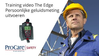 Download Training Video | 3M Edge Dosimeter | Taking a Personal Noise Measurement Video