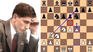 Download Bobby Fischer wins with the Fischer-Sozin Attack in 17 moves Video