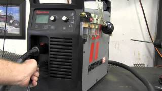 Download Hypertherm Powermax 65 set up to Torchmate 2x4 cnc table. Video