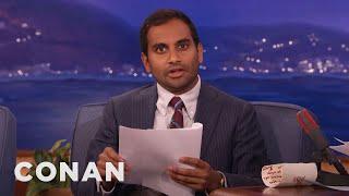 Download Aziz Ansari's Twitter Screenplay - CONAN on TBS Video