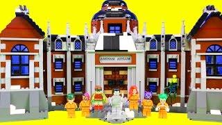 Download The Lego Batman Movie Batman Goes To Arkham Asylum To Stop The Joker Jail Break Video
