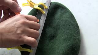 Download Preparing and Shaping the Beret Video