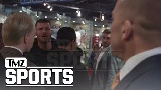 Download GSP vs. Bisping: Threats, Cussing, Insults In Backstage Standoff | TMZ Sports Video
