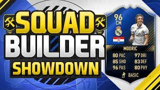 Download FIFA 17 SQUAD BUILDER SHOWDOWN!!! TEAM OF THE YEAR MODRIC!!! The Best Midfielder On Fifa 17!?! Video