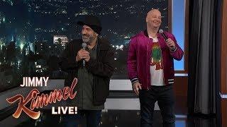 Download Jeff Ross & David Attell Roast Kimmel Audience Video
