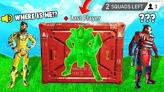 Download LAST PLAYER GLITCHED IN CRATE! (Apex Legends Funniest Moments #7) Video