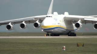 Download Antonov 225 Mriya Departs Manchester Airport, 26th June 2013 Video