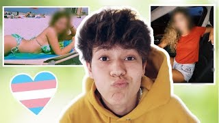 Download reacting to my GIRL pictures Video