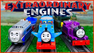 Download THOMAS AND FRIENDS EXTRAORDINARY ENGINES COMPILATION|TRACKMASTER WINGED THOMAS HUGO RYAN TOY TRAINS Video