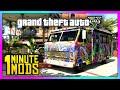 Download GTA 5 PC - 1 Minute Mods | Psychedelic Journey Car Skin! (GTA V - #4) Video