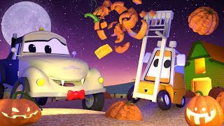 Download Special HALLOWEEN ! Getting ready for Halloween ! - Tom the Tow Truck's Car Wash | Cartoons for kids Video