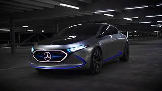 Download Mercedes-Benz Concept EQA - Driving Sscenes Video
