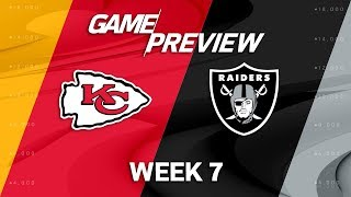 Download Kansas City Chiefs vs. Oakland Raiders | Week 7 Game Preview | NFL Playbook Video