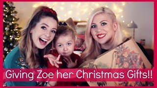 Download Giving Zoe Her Christmas Presents!! Video