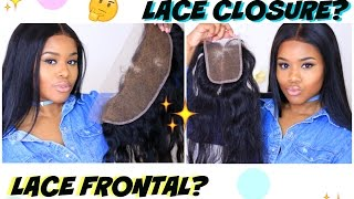 Download Lace CLOSURE vs Lace FRONTAL: Which is BEST for YOU? (Beginner Friendly) Video