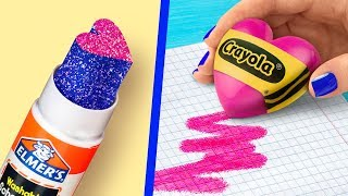 Download 11 Fun DIY School Supplies / Valentine's Day Special! Video