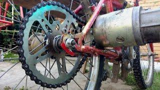 Download Electric Bike From Scrap - Simple E-Bike 1000w - Homemade Video