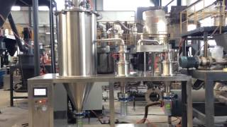 Download Air Jet Mill for Processing Diamond Powder Video