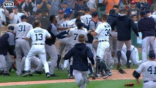 Download Yankees and Tigers' heated altercation Video