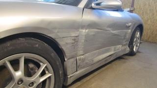 Download Porshe Boxter. The side body repair. Ремонт бока кузова. Video