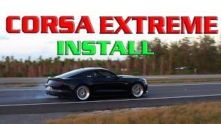 Download $350 Corsa EXTREME Mustang GT Cat-Back? Video