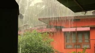 Download Torrential Monsoon Rain in my village near Udupi (24-06-2017) Video