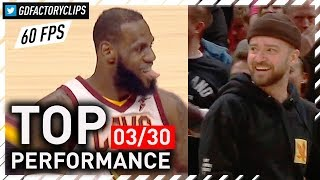 Download TIMBERLAKE APPROVES! LeBron James Full Highlights vs Pelicans - 27 Pts, Passes MJ | 2018.03.30 Video