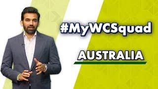 Download Zaheer Khan's #MyWCSquad - Australia Video
