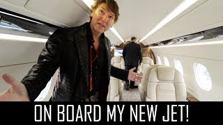 Download On board my new jet! Video