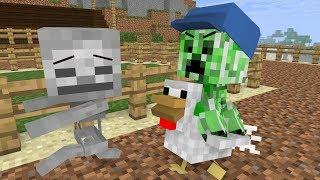 Download Monster School: Animal Riding - Minecraft Animation Video
