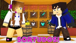 Download Minecraft: SORTUDOS - PRIMEIRA VÍTORIA! (MINIGAME NOVO) Video