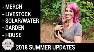 Download 2018 Summer Off Grid Homestead Updates Video