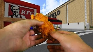 Download Realistic Minecraft - VISITING KFC IN REAL LIFE MINECRAFT! Video