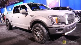 Download 2018 Ford F150 RTR Muscle Truck by RTR Vehicles - Exterior Walkaround - 2017 SEMA Las Vegas Video