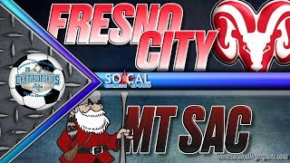 Download CCCAA Men's Soccer Semifinal: Fresno City vs Mt SAC - 12/1 - 4pm Video