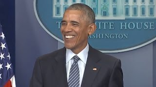Download Obama First Press Conference Since Trump Election | Full Presser Video